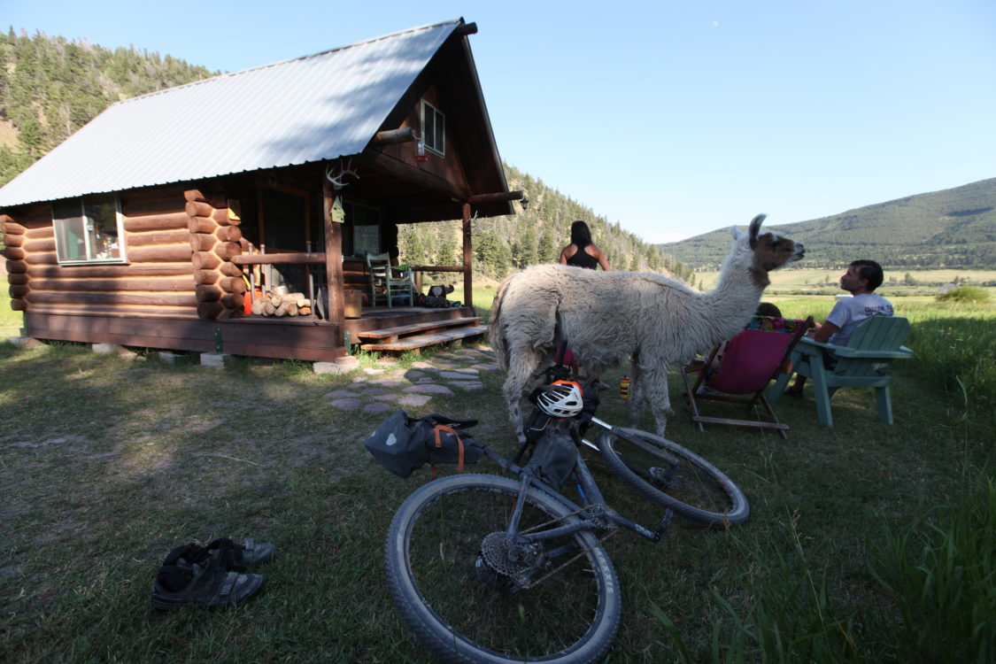 Great Divide #5, Un sanctuaire de cyclistes
