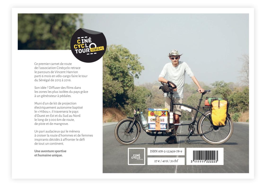 """Sortie de """"Cinécyclo Tour Sénégal"""" de Vincent Hanrion 1"""