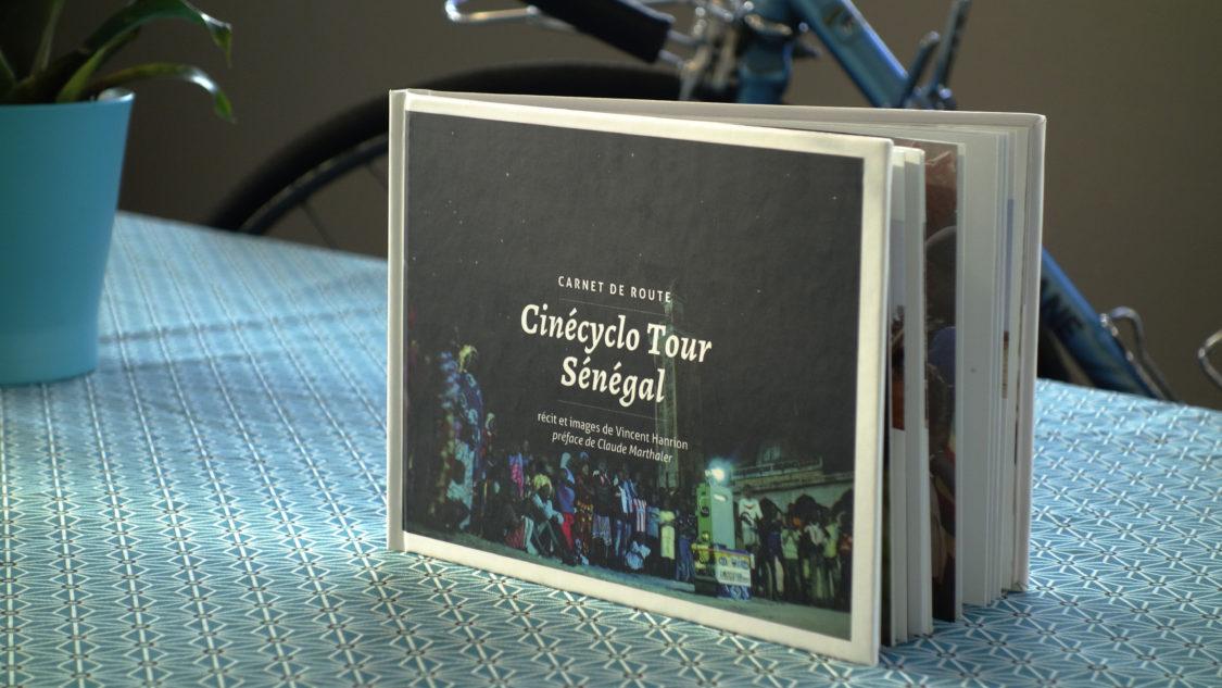 Sortie de Cinécyclo Tour Sénégal de Vincent Hanrion