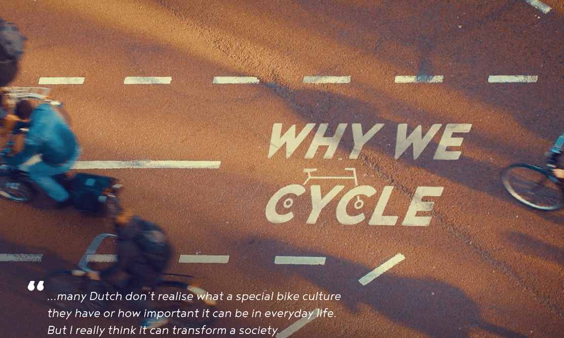 Why we cycle?