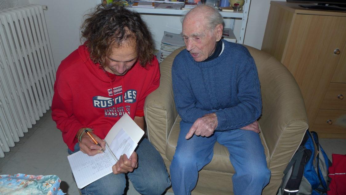 Robert Marchand, 107 ans, cycliste devant l Eternel