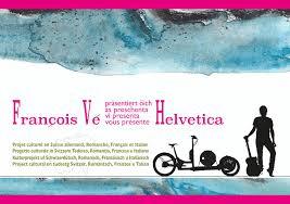 Helvética, tournée suisse du chanteur François Vé à vélo-cargo solaire