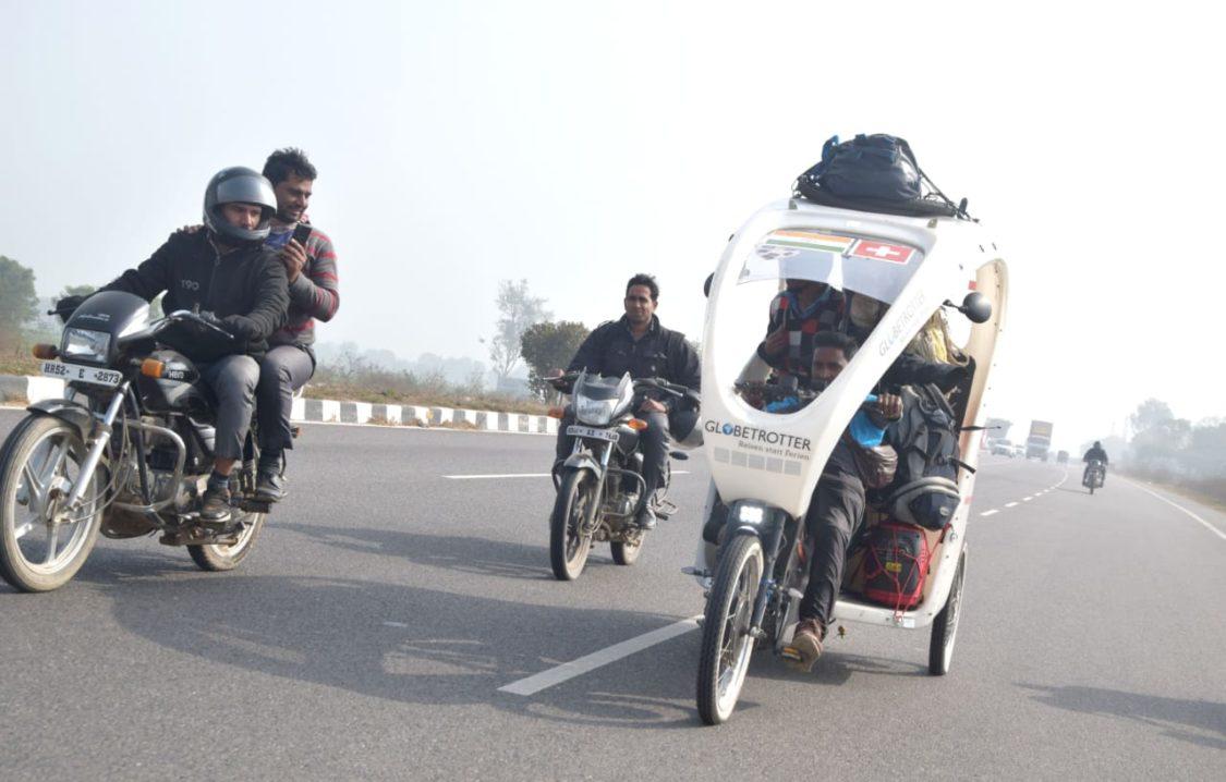 Sohan Lal, rickshaw driver indien à Bern 9