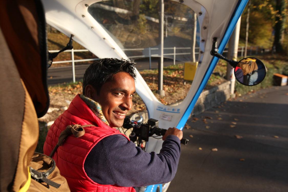 Sohan Lal, rickshaw driver indien à Bern 4