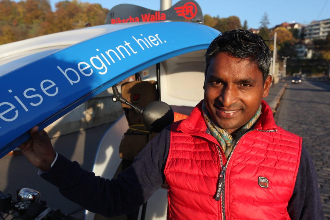 Sohan Lal, rickshaw driver indien à Bern 5