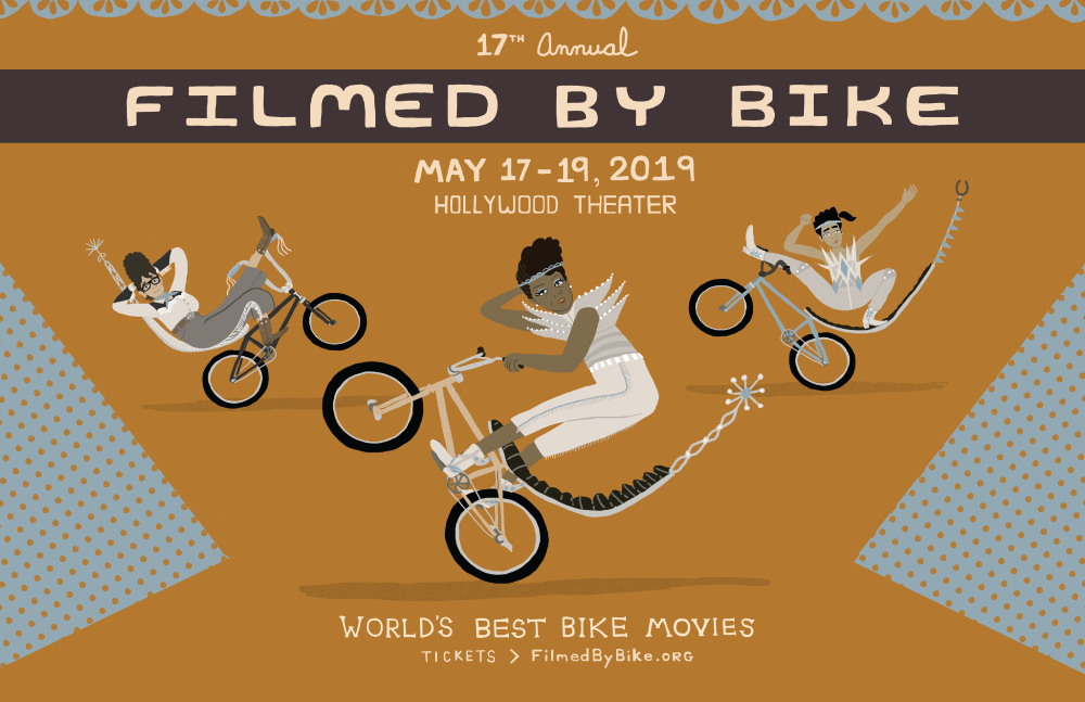 17th annual Filmed by bike
