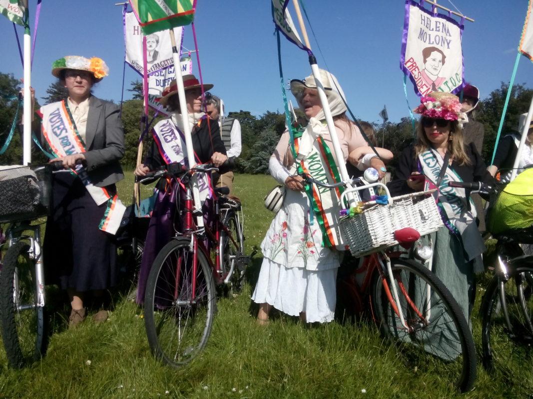 À tire-d'Elles, Femmes, vélo et liberté 2