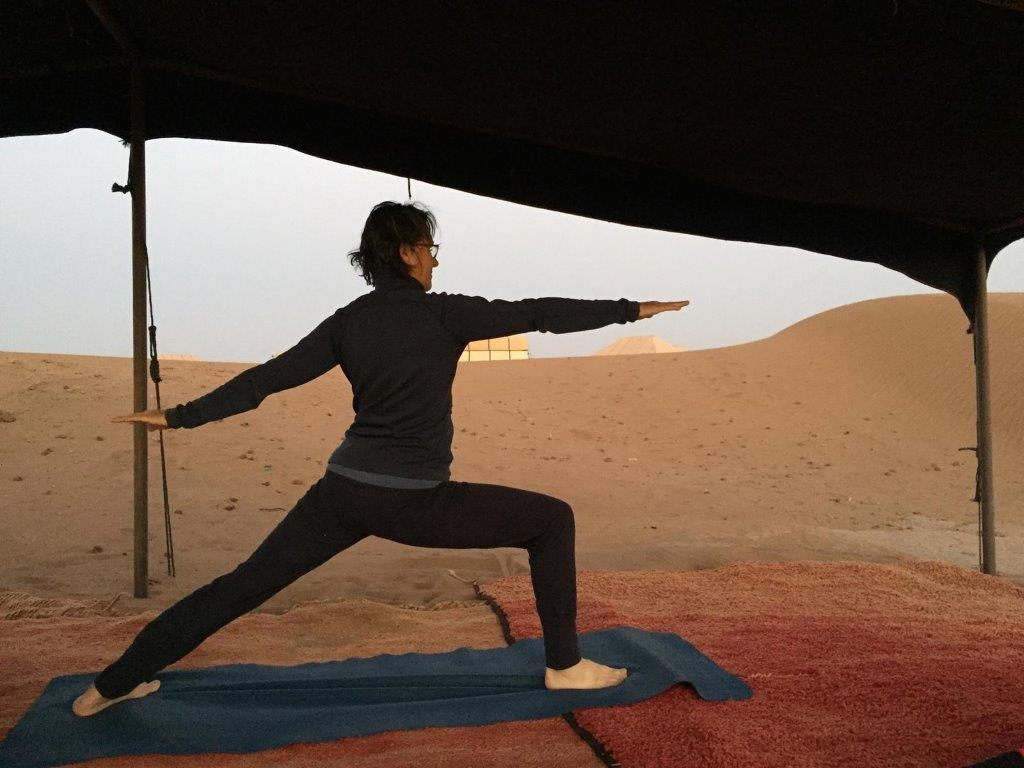 Vélo-Yoga dans le désert marocain/Mit dem Rad & Yoga in die Wüste Marokkos 6