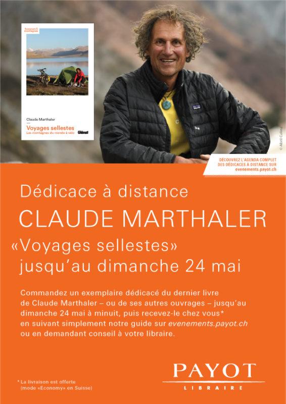 Dédicace de Voyages  sellestes à Genève
