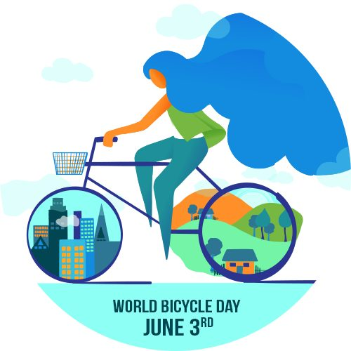 WORLD BICYCLE DAY - Rethinking Mobility: Cycling for a safe COVID-19 Recovery and beyond